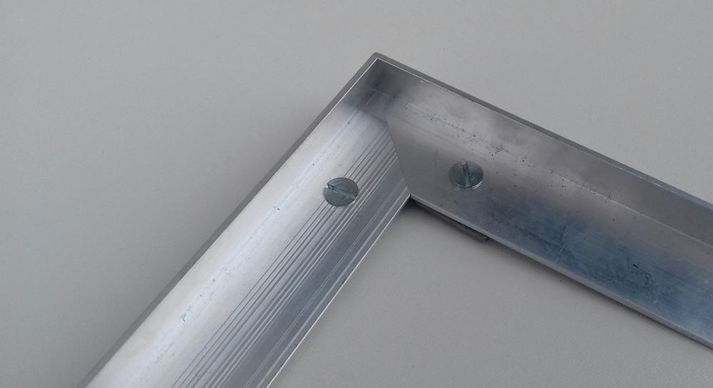 Rámy pro zapuštění do podlahy - ocel